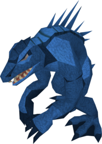Dagannoth mother blue