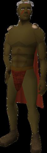 Tribal Weapons Salesman