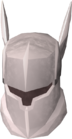 White full helm detail