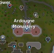 Ardougne Monastery map