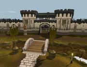 Dilapidated citadel
