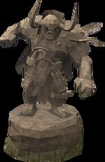 Plain Bandos statue