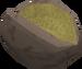 Baked cave potato detail