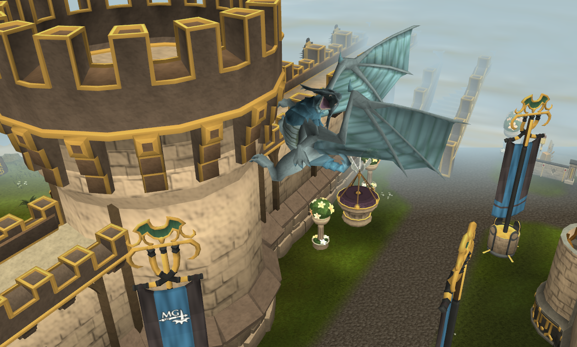 Image - Clan Frost Dragon on Wall.png | RuneScape Wiki | Fandom ... Frost Dragon Runescape