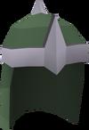 Druidic mage hood detail