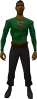 Retro lumberer's tunic