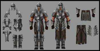 Iron armour concept art