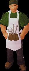 Shop assistant (Varrock Sword Shop)