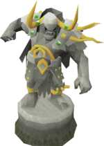 Masterpiece Bandos statue