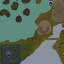 Incandescent wisp location