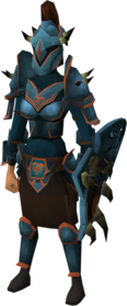 Bandos armour set (sk) equipped