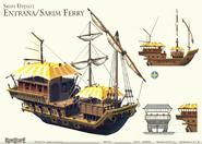 Entrana ferry concept art