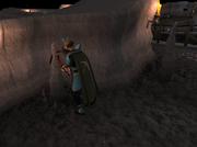 Mining stalagmite