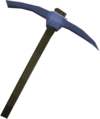 Argonite pickaxe detail