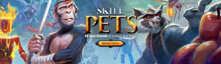 Skilling Pets head banner