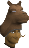 Camel mask chathead