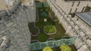 Varrock Palace garden