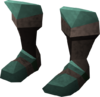 Miner boots (adamant) detail