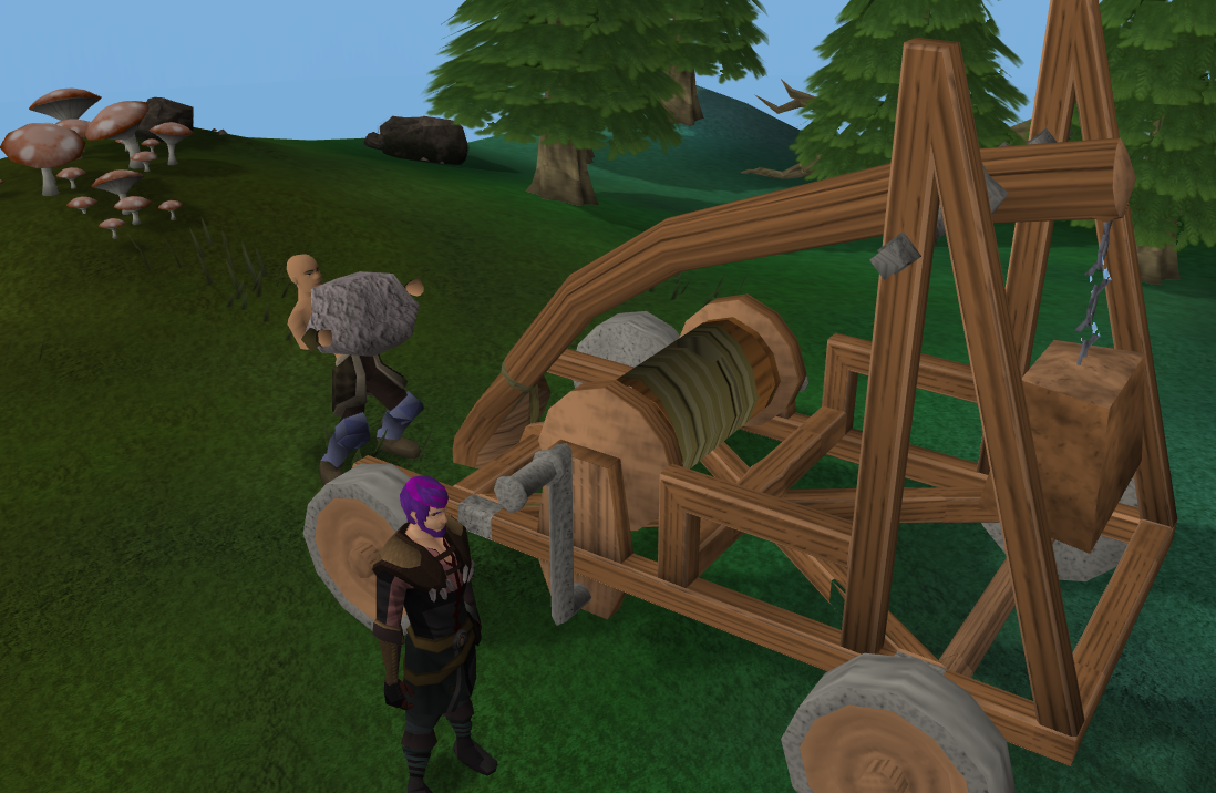 Catapult Construction Runescape Wiki Fandom Powered By