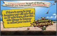Sizzling summer reward - August