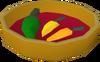 Spicy sauce detail