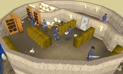 Customs evidence files room