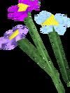 Flowers (pastel) detail