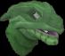 Baby dragon (green) chathead