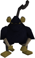 Monkey guard (Do No Evil)