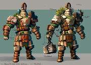 Earth warrior concept art