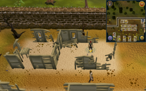 Scan clue West Ardougne inside house north of housing area