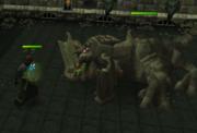 Bulwark beast ranged