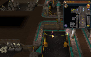 Scan clue Dorgesh-Kaan lower level outside Barlak's room