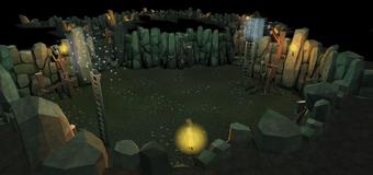 Castle Wars dungeon