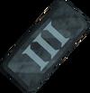 Rune ingot III detail