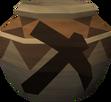 Strong mining urn detail