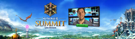 Summer Summit livestream head banner