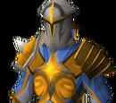 Warpriest of Saradomin armour