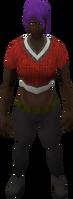 Retro woolen vest (female)
