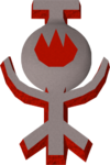 Fire talisman detail