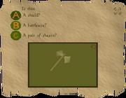 Certer question