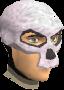Skeleton mask chathead