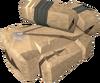 Stegoleather torn bag detail