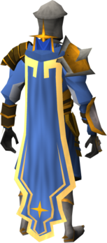 Warpriest of Saradomin cape equipped