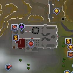 Warriors' Guild map