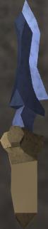 Argonite dagger detail