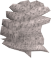 Powdered wig detail