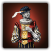 Theatrical outfit icon (male)