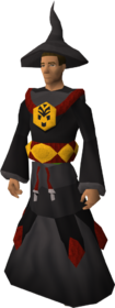 Dagon'hai robes set equipped