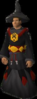 Dagon'hai robes set equipped